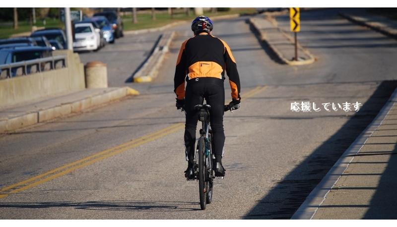 自転車乗りを応援します